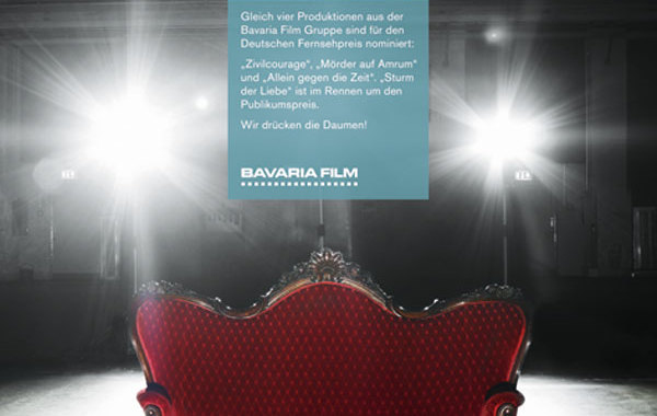 Printkampagne Bavaria Film